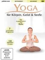 Inga Stendel: DVD Yoga für Körper Geist und Seele