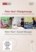 Peter Hess - CD - Klangmassage als komplementäre Methode in der Therapeutischen Praxis (DVD)