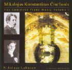 Nikolaus Lahusen: CD Compl. Piano Music Of Mikalojus K. Ciurlionis V.I